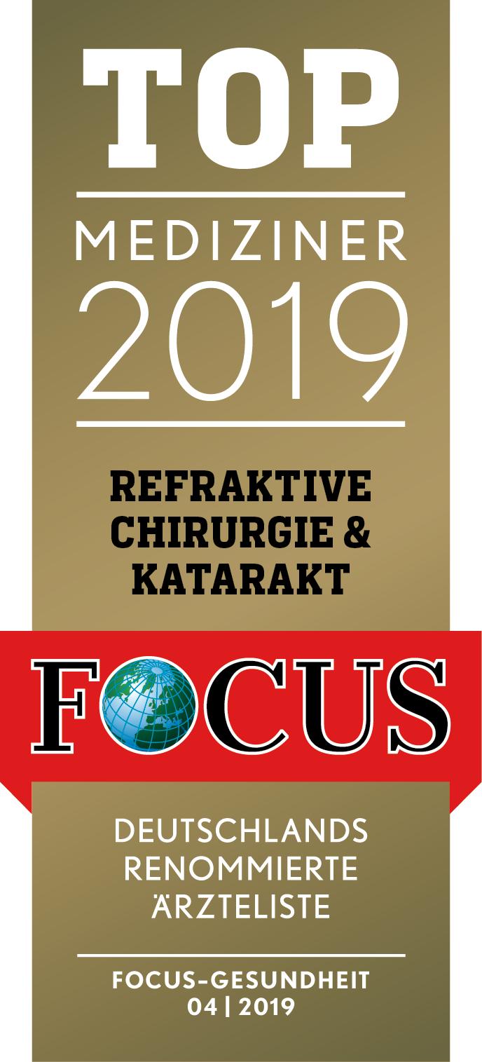 Focus Siegel Top Mediziner 2019
